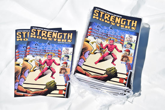 Strength Monsters Issue One
